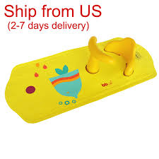 Bathtub Mat Without Suction Cups by Baby Safety Bath Seat U0026 Extra Long Non Slip Bath Mat With Heat