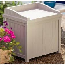 Suncast Patio Storage Box by Fingerhut Suncast Patio Storage Box Bench