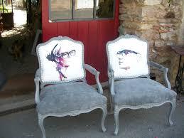 relooking fauteuil louis xv fauteuils personnalisés grain de folie creation