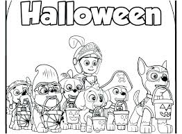 Paw Patrol Printable Coloring Pages Pup Chase