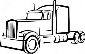 Semi Truck Outline Drawing Simple Illustration With A Clipart Free ... Black And White Truck Clipart Collection 28 Collection Of Semi Truck Front View Clipart High Quality Free Grill And White Free Download Best Pickup Car Semitrailer Clip Art Goldilocks Art Drawing At Getdrawingscom For Personal Real Vector Design Top Panda Images Image 2 39030 Icon Stock More Business Finance Outline Wiring Diagrams