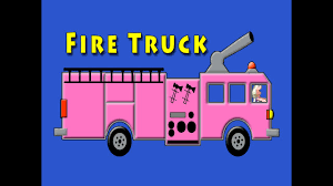 Vids4kids.tv - Pink Fire Truck Counting 1 To 10 Video For Kids - YouTube