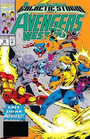 Operation Galactic Storm Event Avengers West Coast Vol 2 80