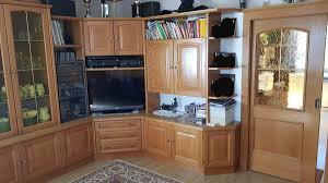 wohnzimmer eiche rustikal massiv