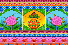 Floral Kitsch Background In Indian Truck Art Style Royalty Free ... Claus Muller Pakistani Truck Art Project Car Guy Chronicles Truck Art In South Asia Wikipedia Simran Monga Doodle Doo Pakistani Art Meyree Jaan Pakistan Seeking Paradise The Image And Reality Of Truck Herald Photos Insider Tradition Trundles Along Newsweek Middle East Indian Pimped Up Rides Media India Group Seamless Pattern Pakistani Vector Image Wedding Cardframe On Behance
