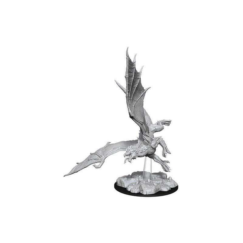 Wizkids Wzk73684 Dungeons & Dragons Nolzurs Marvelous Young Green Dragon W8 Miniatures