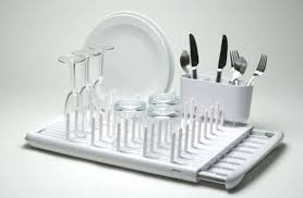 Folding dish drying rack is coolest thing for every kitchen HomeCrux
