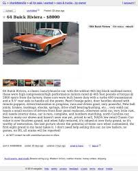 Funky Craigslist Charlottesville Cars Illustration - Classic Cars ... Wv Craigslist 82019 New Car Reviews By Javier M Rodriguez Crapshoot Hooniverse Houston Tx Cars And Trucks For Sale By Owner Buick Fine Cheap Model Classic Ideas For Best Caught Find Of The Week Page 137 Ford Truck Enthusiasts Forums Craigslist Scam Ads Dected 02272014 Update 2 Vehicle Scams 15000 Meet Cedric The Enttainer Charleston Sc Used And Indian Chief Motorcycles Sale In Georgia Youtube In El Paso Fniture Columbia Sc