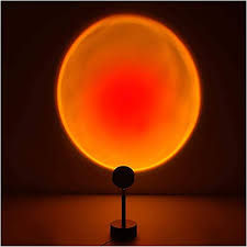 sunset l sunset projection l sunset l usb led projector l light 180 degree rotation for living room decor mood l bedroom