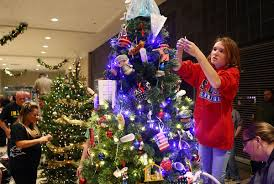 Millers Christmas Tree Farm Indiana by We Care Hosts Tree Decorating Festival News Kokomotribune Com