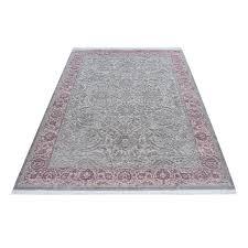 tapis de bureau personnalisé tapis violette style baroque acrylique haut qualite naturel
