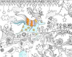 Giant Coloring Poster Page Colouring Book