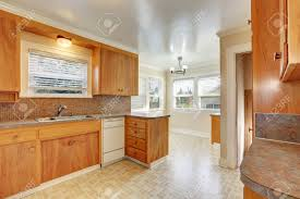Best Scheme For Kitchen Countertop Without Cabinets Paint Ideas Bright Room With Style Wooden Linoleum Floor