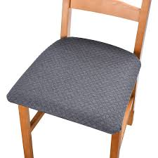 Amazon.com: Stratissu Premium Dining Room Chair Seat Covers - Works ... Printed Stretch Slipcover 1 Seater Ding Chair Covers Choose Your Height Standard Cushions Target Without Only Decor Eaging Kitchen Interior With Outstanding For Chairs Gray Modern Grey Seat Pads Pad Replacement Images Incredible Ties Best Fabric For Kitchen Chair Cushions Chaing Ding Seat Walmart Protectors Sure Fit Pique Room With Ikat Fabric Cushion Cover Red Chenille Home Chums Round Barstool Cover Cushioned Foam Elasticized Buffalo Check