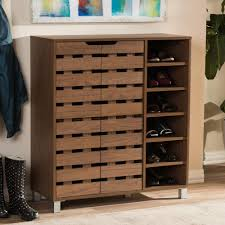 baxton studio shoe storage closet storage organization the