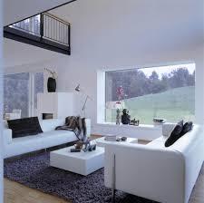 einrichtungsideen wohnzimmer haus eisner baufritz modern