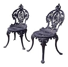 Antique Adams Navillus Cast Iron Garden Chairs - Set Of 2 | Chairish Invention Of First Folding Rocking Chair In U S Vintage With Damaged Finish Gets A New Look Winsor Bangkokfoodietourcom Antiques Latest News Breaking Stories And Comment The Ipdent Shabby Chic Blue Painted Vinteriorco Press Back With Stained Seat Pressed Oak Chairs Wood Sewing Rocking Chair Miniature Wooden Etsy Childs Makeover Farmhouse Style Prodigal Pieces Sam Maloof Rocker Fewoodworking Lot314 An Early 19th Century Coinental Rosewood And Kingwood Advertising Art Tagged Fniture Page 2 Period Paper