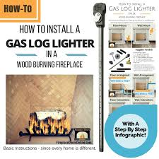 Fireplace Gas Burner Pipe by Fireplace Gas Starter Pipe Installation Instructions
