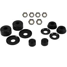 100 Nuts For Trucks Truck Parts Kit HARD 98A Bushings Washers Pivot Cups 2