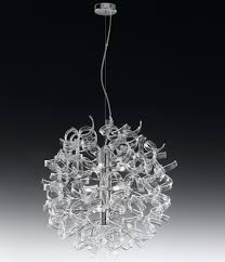 Cloudy Grande Lava Lamp by Pendant Lamp Made In Italy By Metal Lux 65 Cm Diameter Crystal