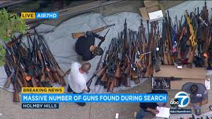 100 Holmby ATF Los Angeles Police Seize More Than 1000 Guns In Raid At Home