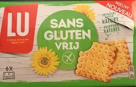 cuisine sans gluten biscuits sans gluten vrij nature lu 200 g