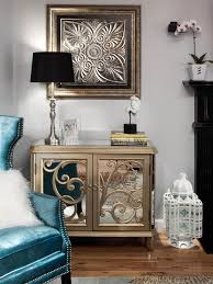Glamorous Transitional Living Room Natasha Eustache Garner Hgtv Eclectic Glam Design Interior Magazine