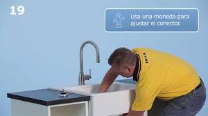 Ikea Domsjo Sink Single by Ensamblando Con Ikea Domsjo Youtube