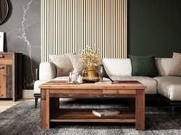 newroom couchtisch wood wohnzimmertisch vintage indurstrial landhausstil sofatisch wohnzimmer kaufen otto