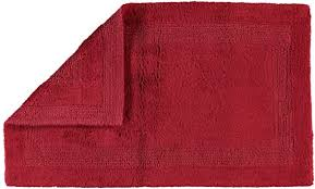 cawö home badteppich luxus badteppich 1000 bordeaux 280 70x120 cm