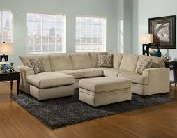 Sectional Sofa with Right Side Chaise 6800 by American Furniture