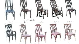 Dining Room Chairs Styles Remarkable Attractive Chair Popular In Vintage