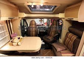 August 27 2012 In Dusseldorf Germany Interior Of A Modern Camper Van At