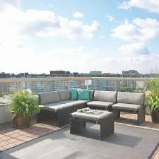 Suncast Outdoor Patio Furniture by Fabulous Small Space Outdoor Sectional Outdoor Patio Furniture For