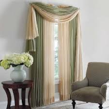 Brylane Home Bathroom Curtains by Crushed Taffeta Scarf Valance U0026 Rod Pocket Panel Curtains
