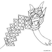 Chinese Kites Coloring Pages