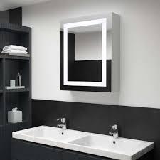 dereoir led bad spiegelschrank 50 x 13 x 70 cm