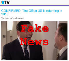 Fake News The fice US Is NOT Returning In 2018