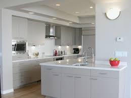 Soft White Galley Kitchen