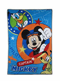 Amazon Disney Mickey Mouse Captain Mickey Super Soft Toddler