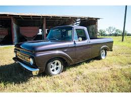 100 Ford Unibody Truck For Sale 1962 F100 For ClassicCarscom CC960010