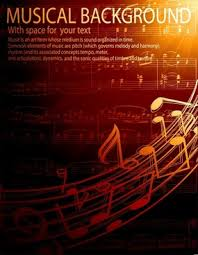 Gorgeous Classical Music Background Vector