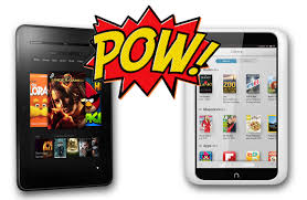 Amazon Kindle Fire HD vs Barnes & Noble Nook HD
