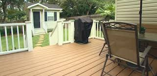 Replacing A Wood Deck With Composite Decking