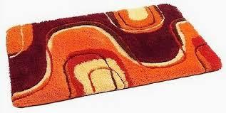 bad teppich oder 2tlg bad garnitur mit runder badematte