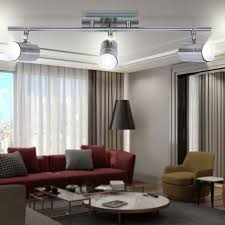 Blanket Light LxB 580x70mm Silver Moving Spots Bedroom Office Modern GU10