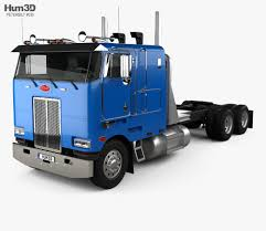 100 Tractor Truck Peterbilt 362 2002 3D Model Vehicles On Hum3D