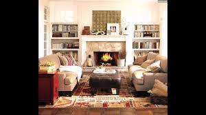 gemütliches wohnzimmer einrichten kamin dekostoffe textilien