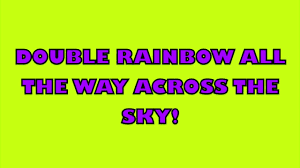Smashing Pumpkins Luna Meaning by Double Rainbow Song W Lyrics Youtube