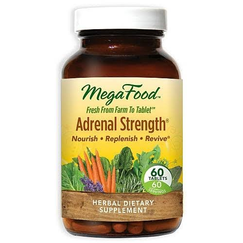 Megafood Adrenal Strength Dietary Supplement - 60 Tablets